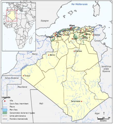 L'Algérie et les changement climatiques